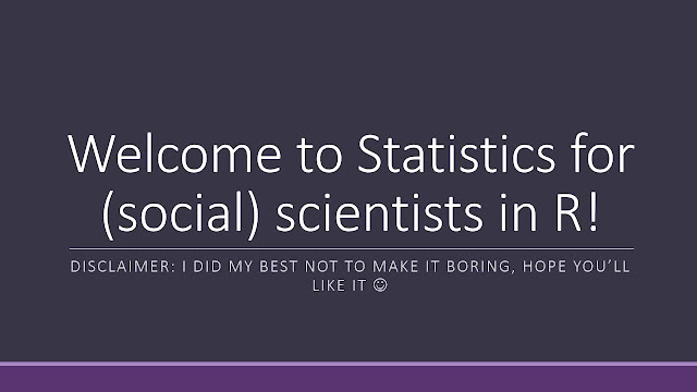 R programming for (social) scientists