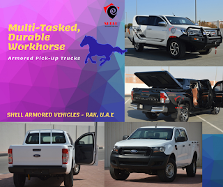Best Armored Pickup Truck Manufacturer UAE