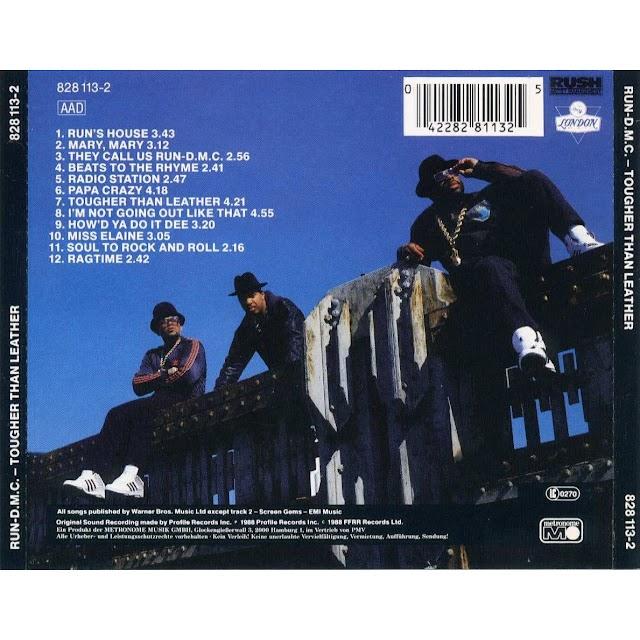 """Run-DMC lanzaba el 17 de mayo de 1988 """"Tougher Thank Leather""""."""
