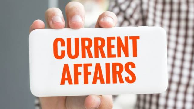 Top 5 Current Affairs: 21 August 2019