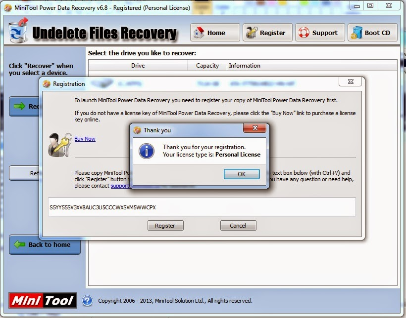 Mini Tool Power Data recovery and Partition Wizard full ...