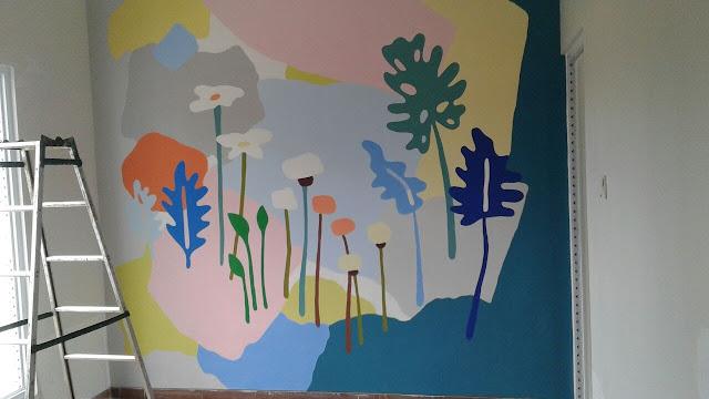Mural Kamar Tidur Anak