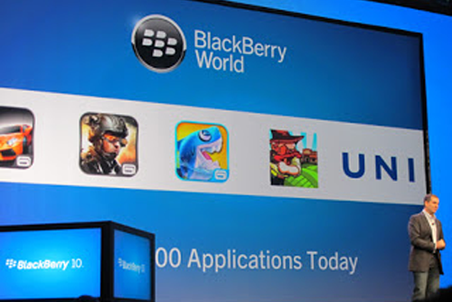 Aplikasi BlackBerry 10