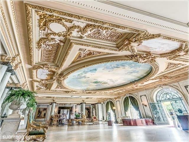 ديكورات جبس اسقف راقيه كلاسيك 7   Classic Gypsum Ceiling 7