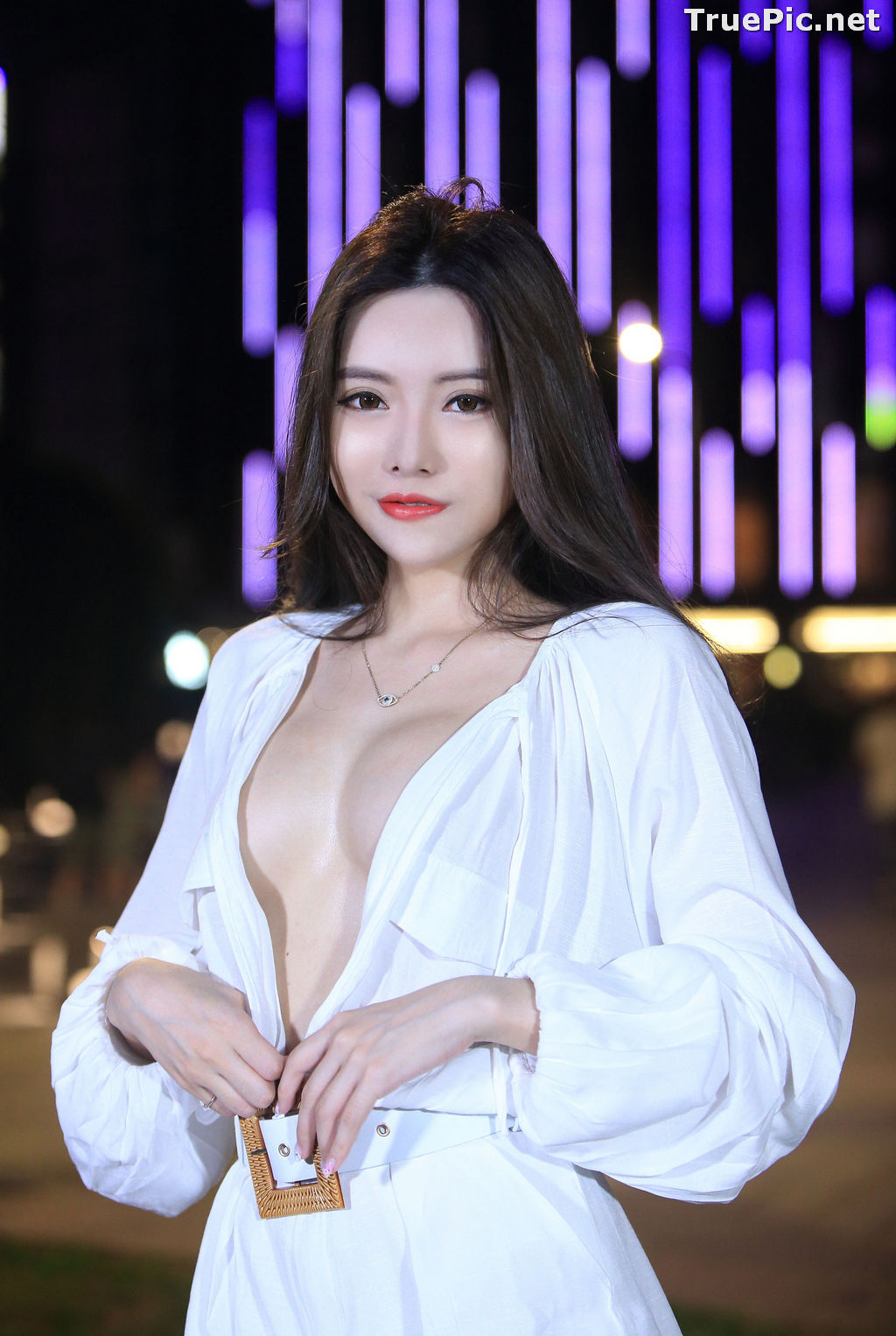 Image Taiwanese Model – 莊舒潔 (ViVi) – Sexy and Pure Baby In Night - TruePic.net - Picture-40