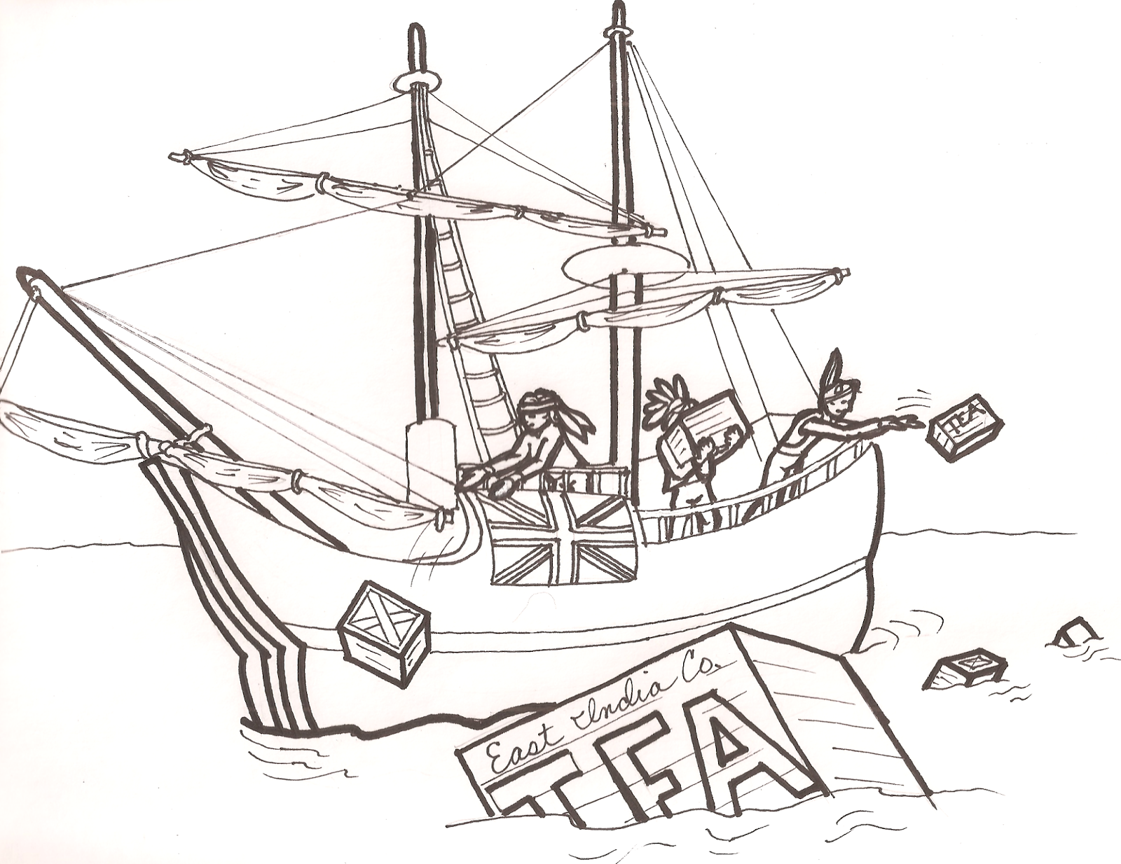 Early Childhood Physical Education The Boston Tea Party