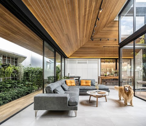 5 Beste minimalistische Wohnzimmer-Design, machen das Haus noch kühler