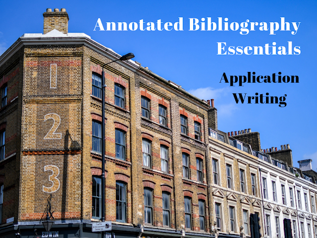 Annotated Bibliography Essentials: Application Writing
