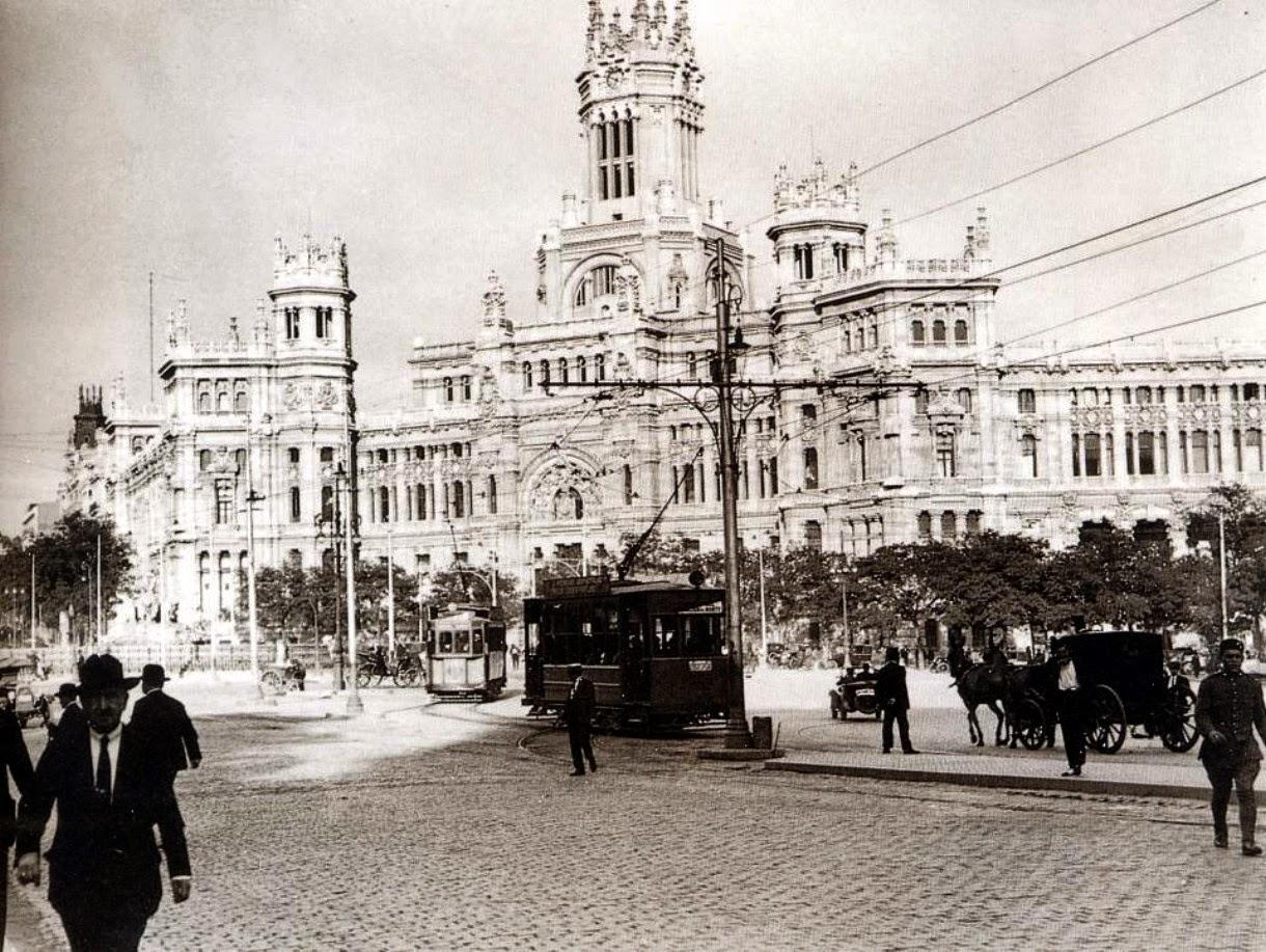 tal d a como hoy en madrid 14 marzo 1919 se inaugura