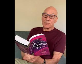 Patrick Stewart reading a sonnet