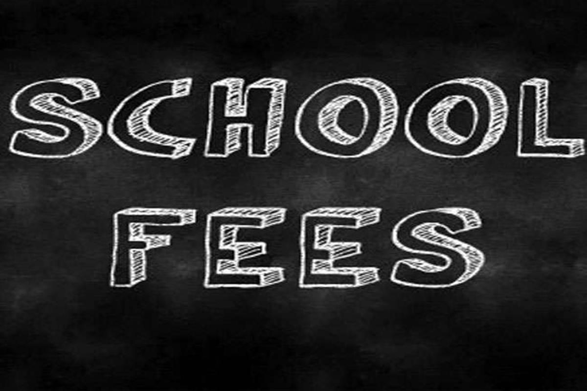 School fees in Black Board