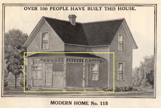 sears modern home model 115