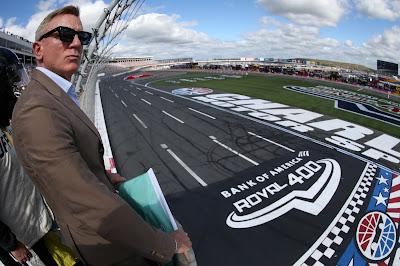 Honorary starter, actor Daniel Craig (#NASCAR Cup)