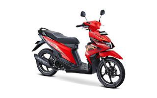Suzuki Nex II Stronger Red