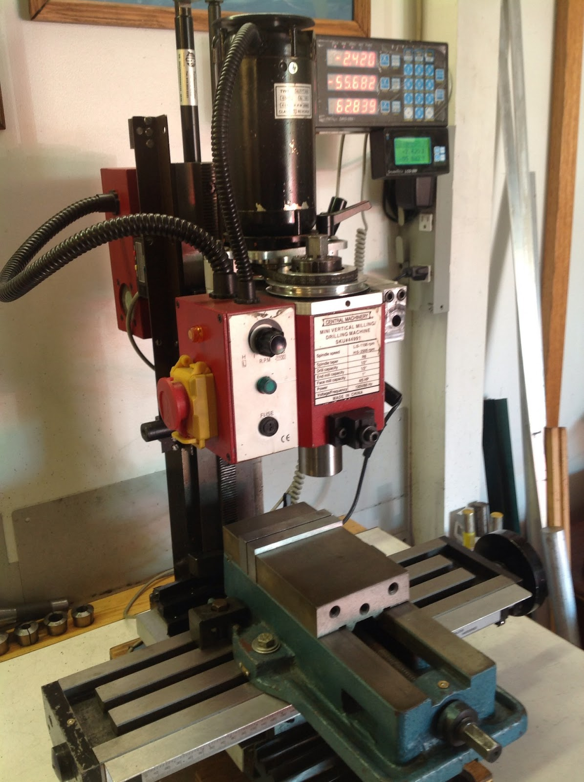 What Does Cnc Stand For >> Robert's Projects: Mini Mill Solid Column Conversion