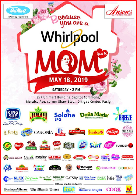 Whirlpool Philippines Mother's Day Celebration Year 8