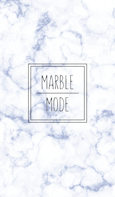 Marble mode : blue WV