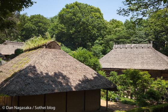 日本民家園の古民家