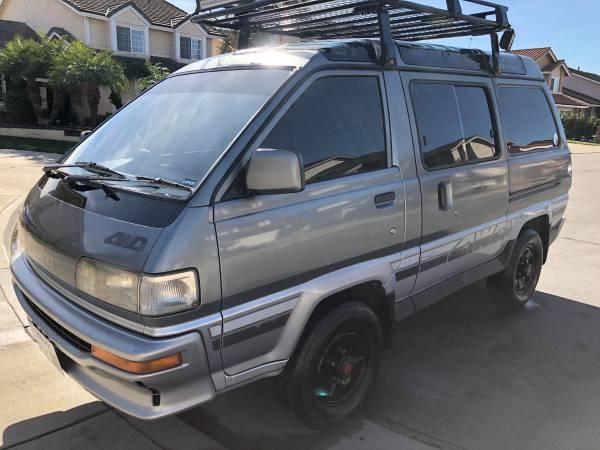 1988 Toyota Liteace 4x4 Turbo Diesel Van 4x4 Cars