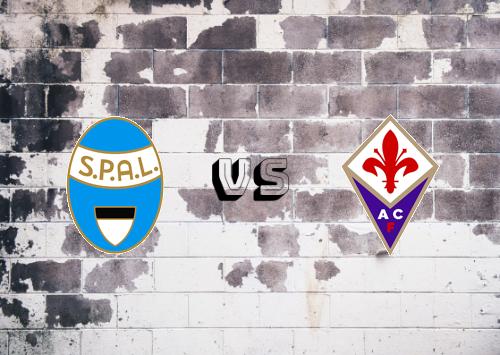SPAL vs Fiorentina  Resumen