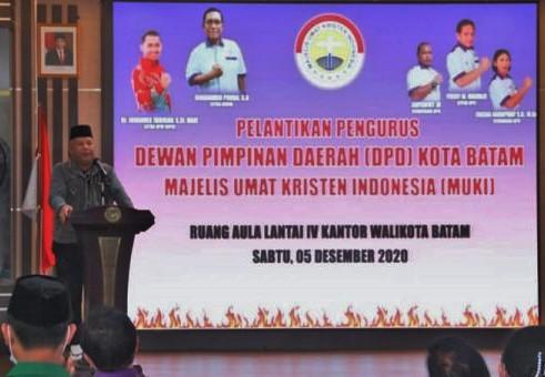 Pjs Wako Batam Hadiri Pentikan DPD MUKI Kota Batam