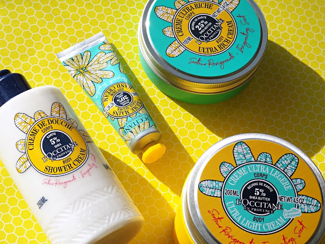 L'Occitane Invigorating Shea Butter Collection Limited Edition Review, Photos