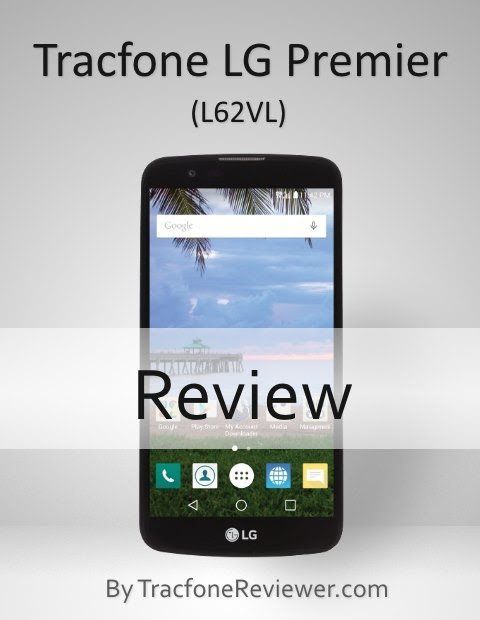 LG Premier (L 62VL) Review for Tracfone