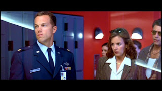 Adam Baldwin and Margaret Colin