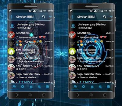 BBM Droid Chat! Futuristic Based BBM Version 3.2.0.6 APK