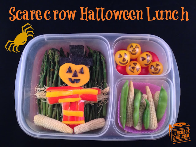 Scarecrow lunch for kids