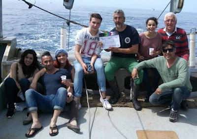 Rodaje del spot Pescaturismo Mallorca
