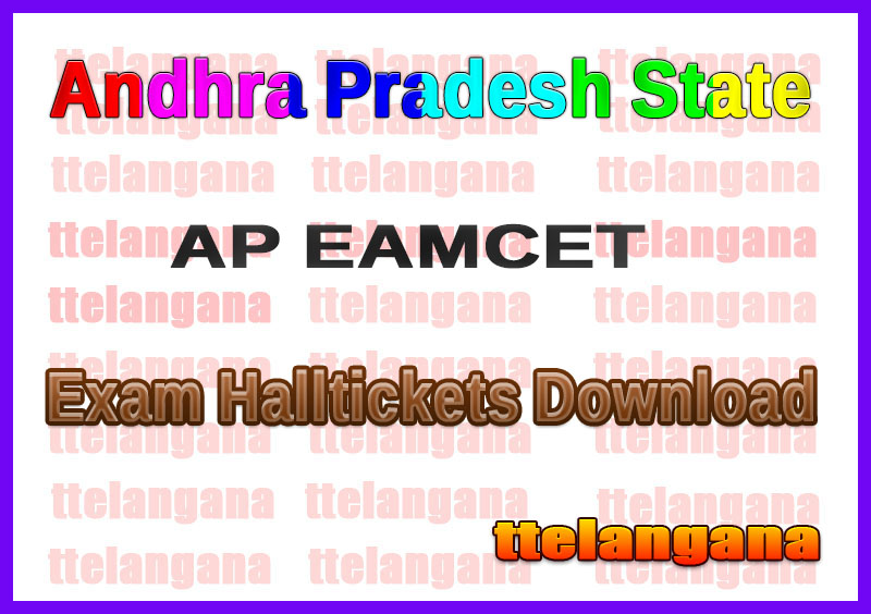 AP EAMCET Hall Tickets Download