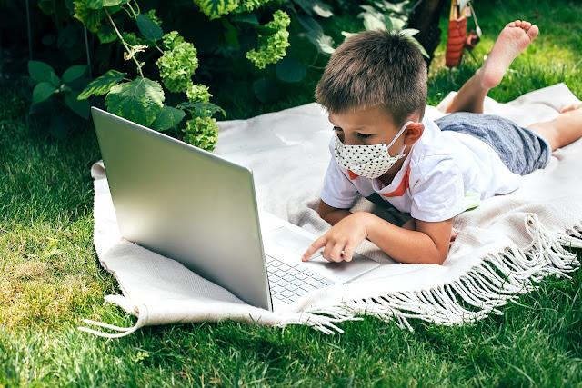 Menjaga Anak Aman Belajar Online Selama Pandemi Corona