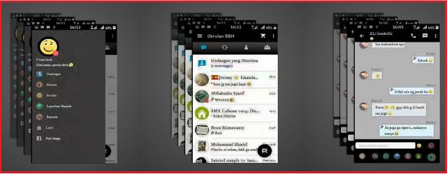 BBM MOD V9 Versi 2.9.0.51 APK Terbaru 2016
