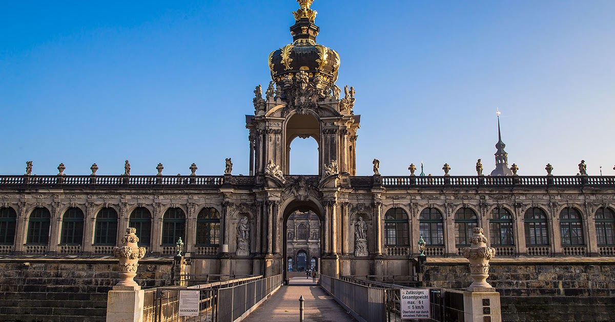 Zwinger Palace - the rise of the German Phoenix!
