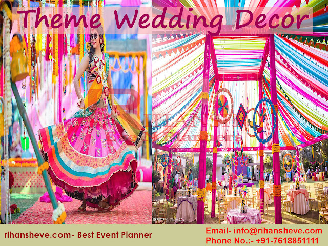 Destination Wedding, theme Wedding Decor or Flower Decoration we help you with everything.