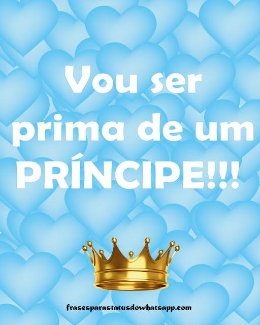 vou ser prima de um príncipe