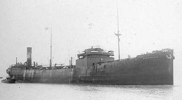 San Gerardo, sunk on 31 March 1942 worldwartwo.filminspector.com