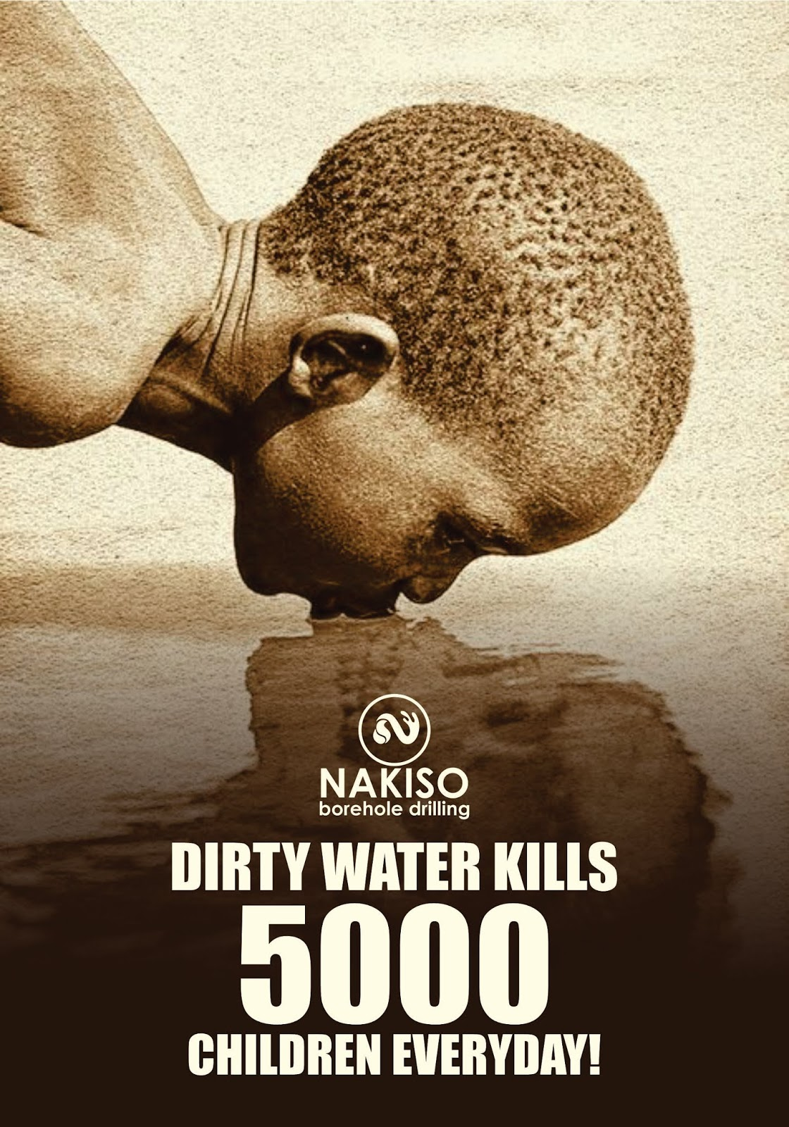Dirty Water and Poor Sanitation Lills Over 5000 Children Every Day!