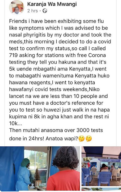 Coronavirus Corruption in Kenya