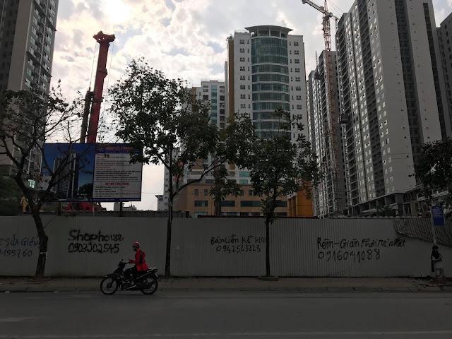 Tiến độ dự án DLC Complex Nguyễn Tuân