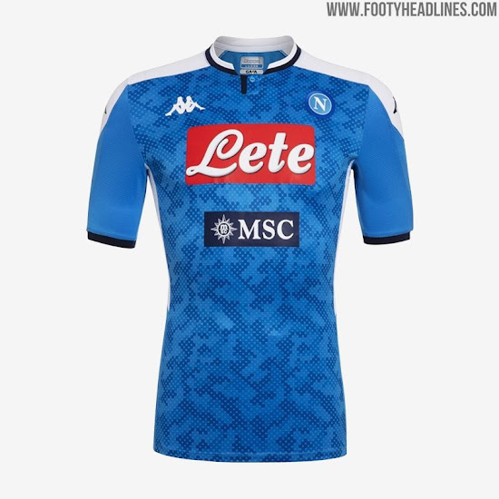 Ssc Napoli 19 20 Home Away Third Goalkeeper Kits Released Footy Headlines