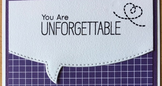 You are Unforgettable
