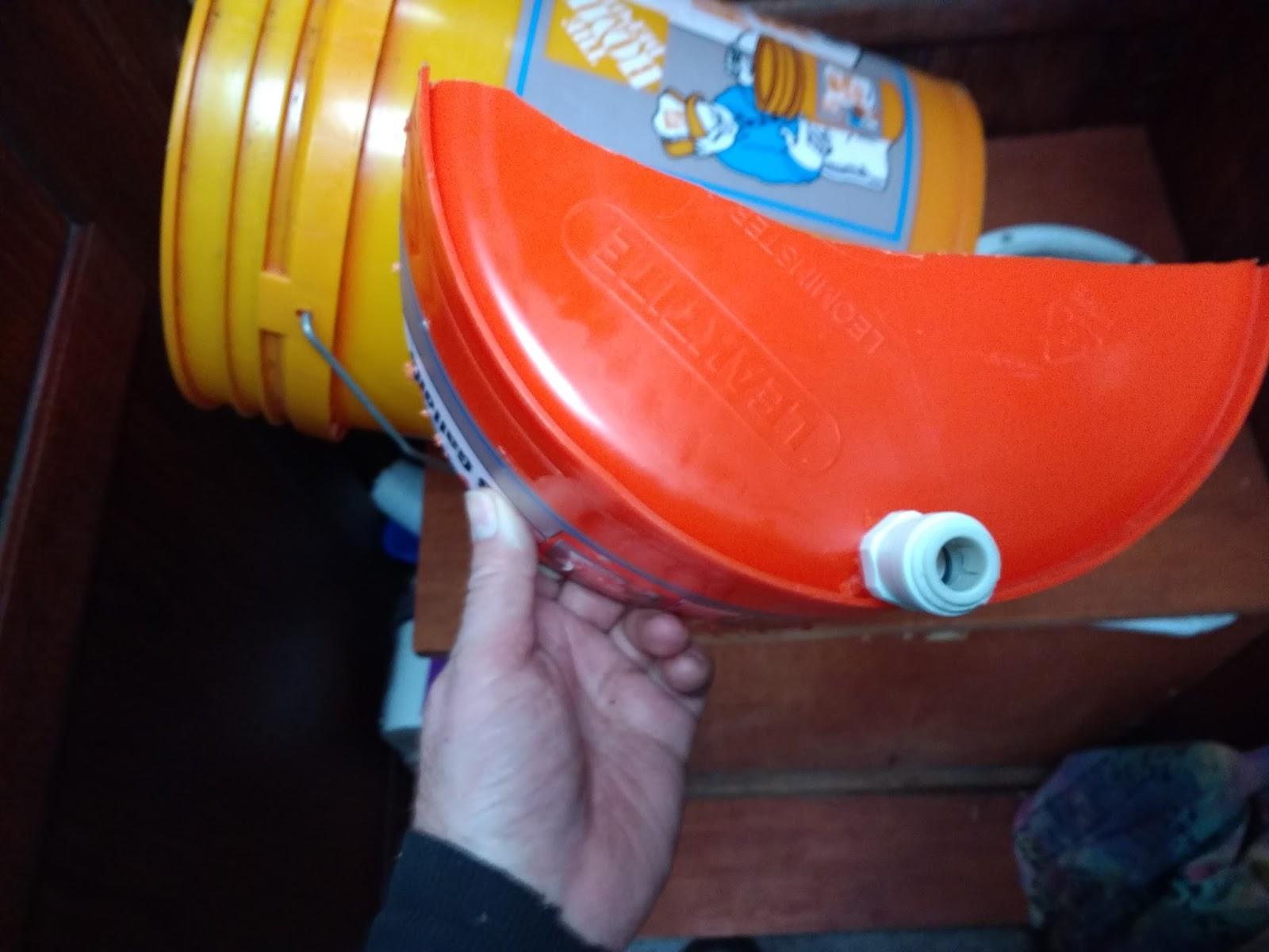 The Floating Empire Diy Urine Diverter For Composting Toilet