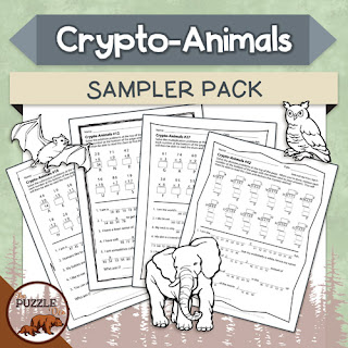 The Puzzle Den - Crypto-Animals Sampler Pack