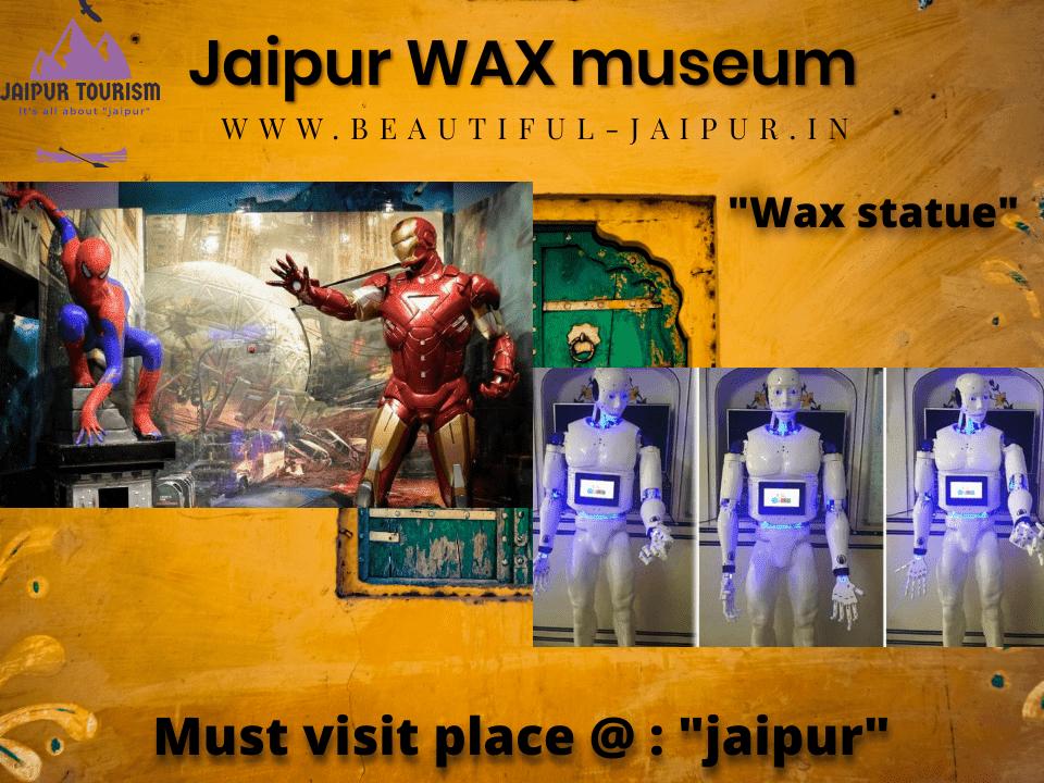jaipur wax museum near nahargarh fort