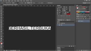 Cara buka file CDR di Photoshop
