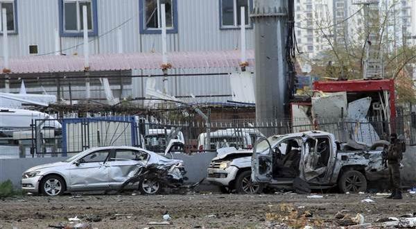 ledakan bom mobil di diyarbakir turki
