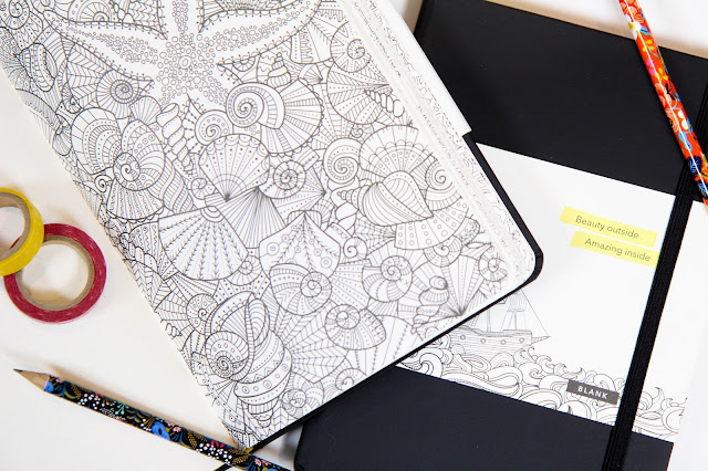 Coloring Bullet Journal Review & Giveaway