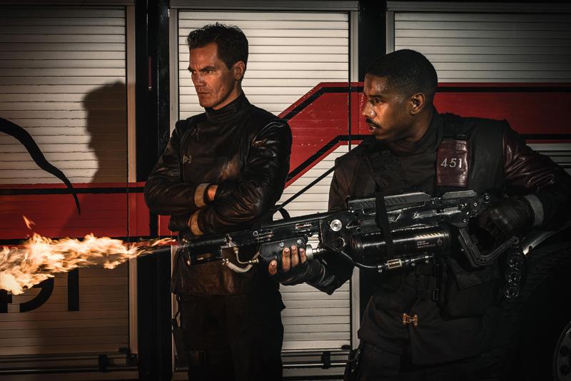 """Michael B. Jordan e Michael Shannon no 1º trailer da adaptação """"Fahrenheit 451"""""""